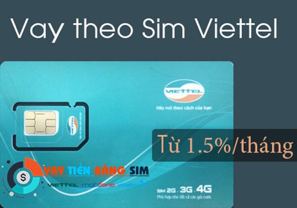 Vay tiền bằng SIM Viettel tại Hà Nội giúp bạn CÓ TIỀN chỉ sau 12 giờ