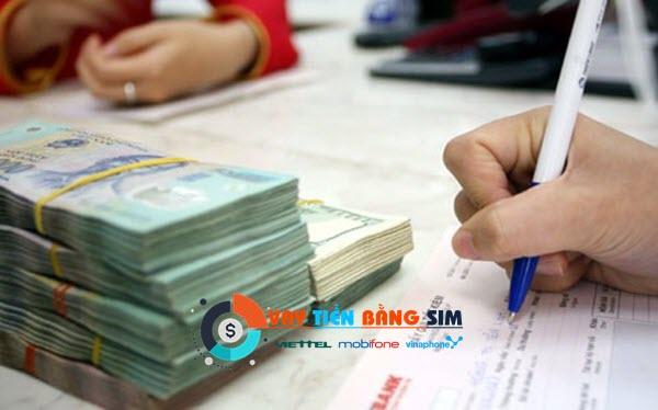 Vay tiền bằng SIM điện thoại Viettel, Vinaphone, Mobifone